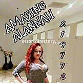 Escort AMAZING ALANNAH