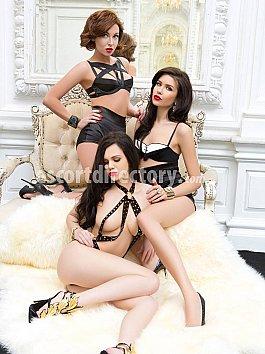 Escort Trio Meisjes Escort