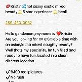 Escort Kristin love