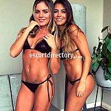Escort Duo Isabella et Tatiana