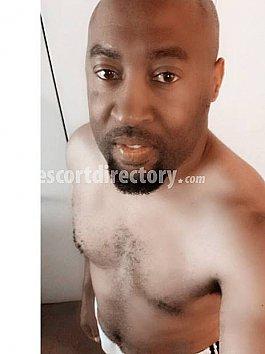 Good Black male escort naked