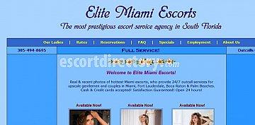 Agency Elite Miami Escorts